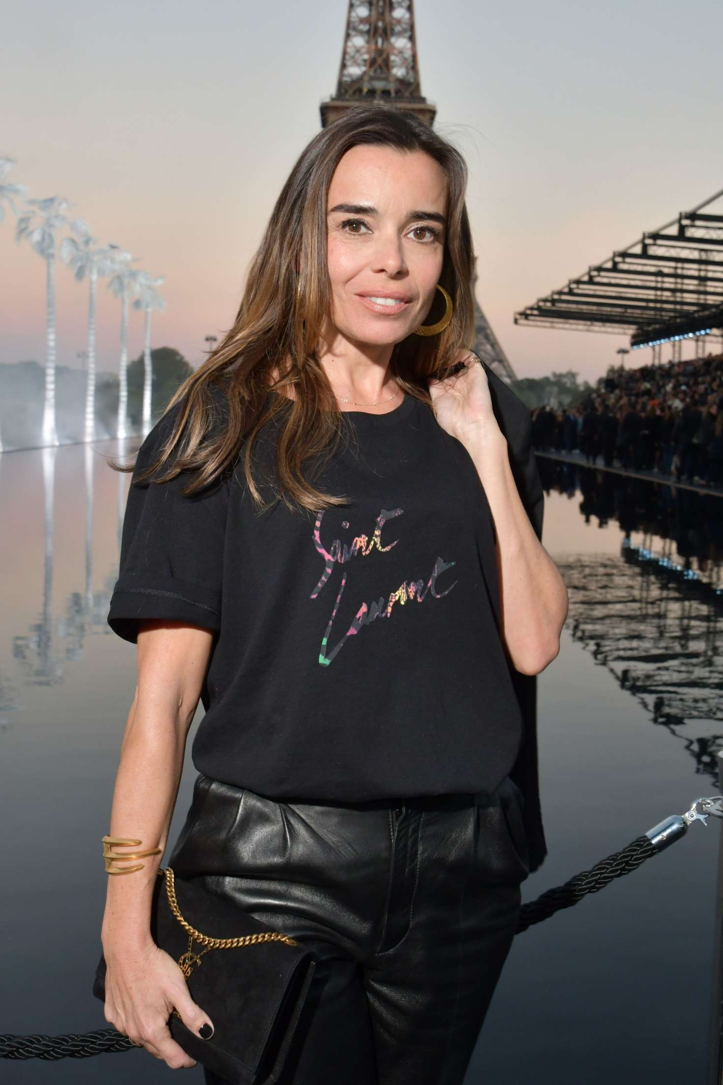 Elodie Bouchez - Saint Laurent Fashion Show in Paris