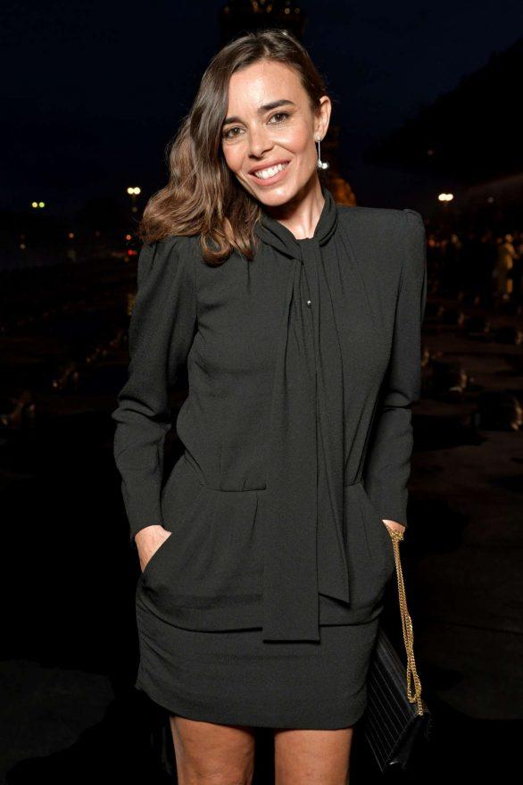 Elodie Bouchez - Saint Laurent Womenswear SS 2020 Show at Paris Fashion Week