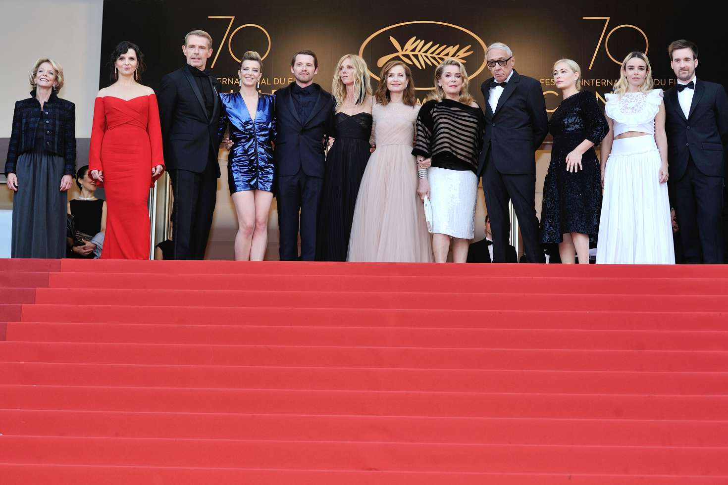Elodie Bouchez - 'The Killing of a Sacred Deer' Premiere at 70th Cannes Film Festival