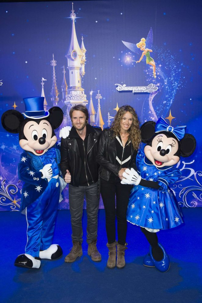 Elodie Fontan - Disneyland 25th Anniversary Celebration in Paris