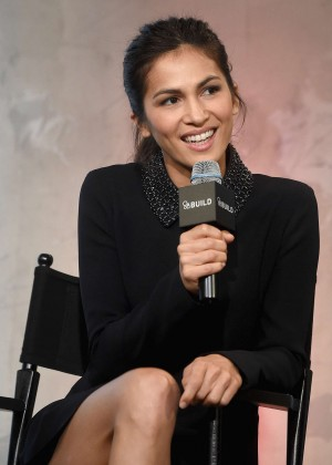 Elodie Yung - AOL Build Speakers Series in NYC