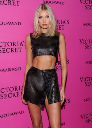 Elsa Hosk - 2017 Victoria's Secret Fashion Show After Party in Shanghai
