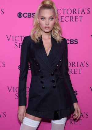 Elsa Hosk - 2017 Victoria's Secret Viewing Party in New York City
