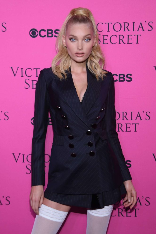 Elsa Hosk – 2017 Victoria's Secret Viewing Party in New York City