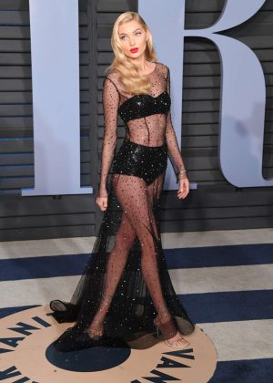 Elsa Hosk - 2018 Vanity Fair Oscar Party in Hollywood