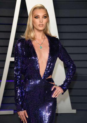 Elsa Hosk - 2019 Vanity Fair Oscar Party in Beverly Hills