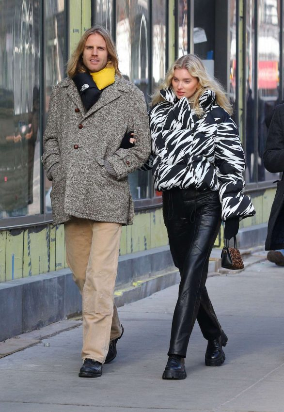 Elsa Hosk and Tom Daly - Out and about in Teaneck