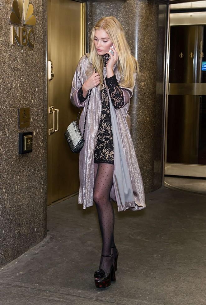 Elsa Hosk - Arrivals at V Magazine Party 2016 in New York