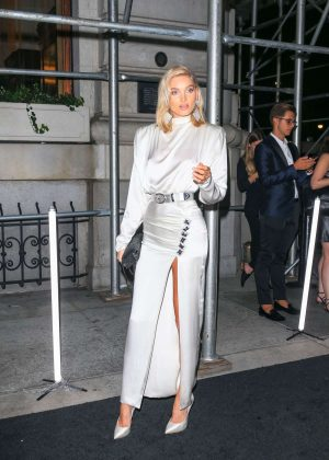 Elsa Hosk - Arrives at Harper's Bazaar ICONS Party in New York