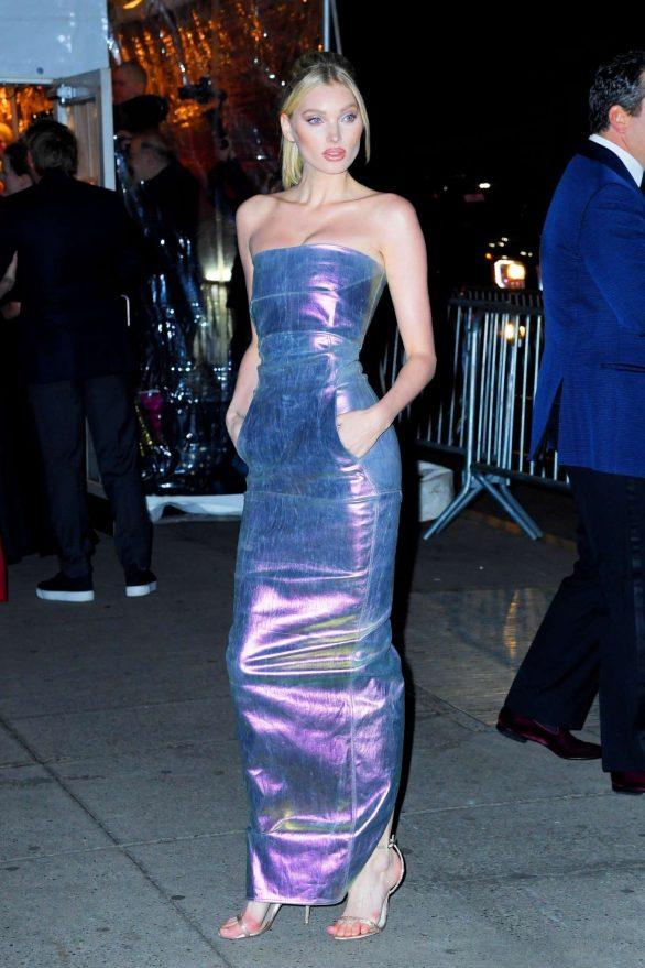 Elsa Hosk - Arrives at the Amfar Gala in New York City