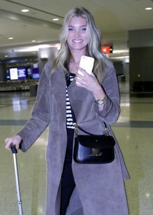 Elsa Hosk Arrives in Sin City