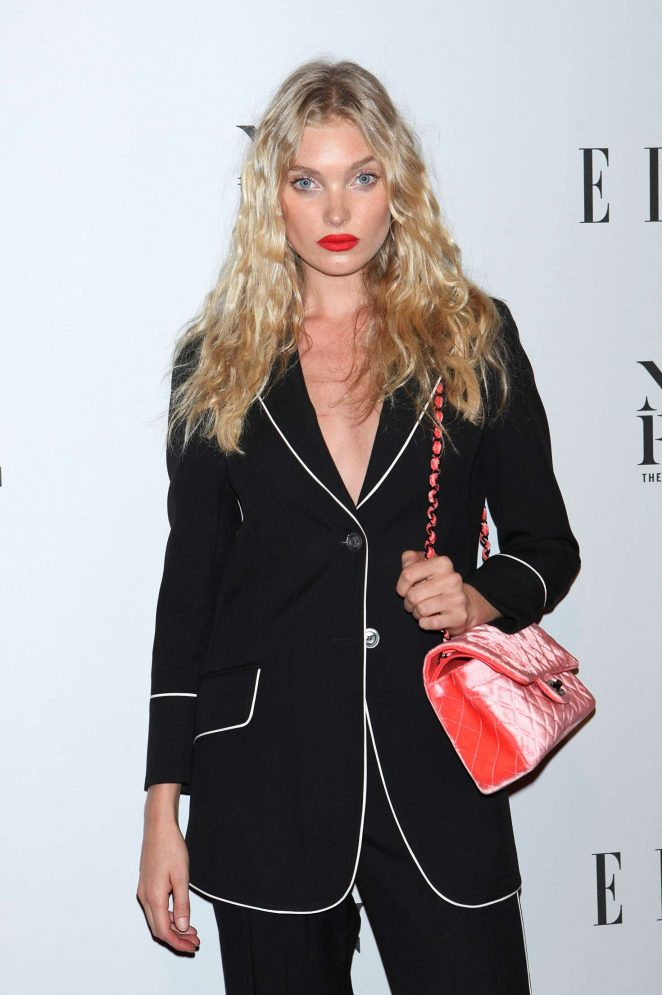 Elsa Hosk - E! New York Fashion Week Kick Off in New York City