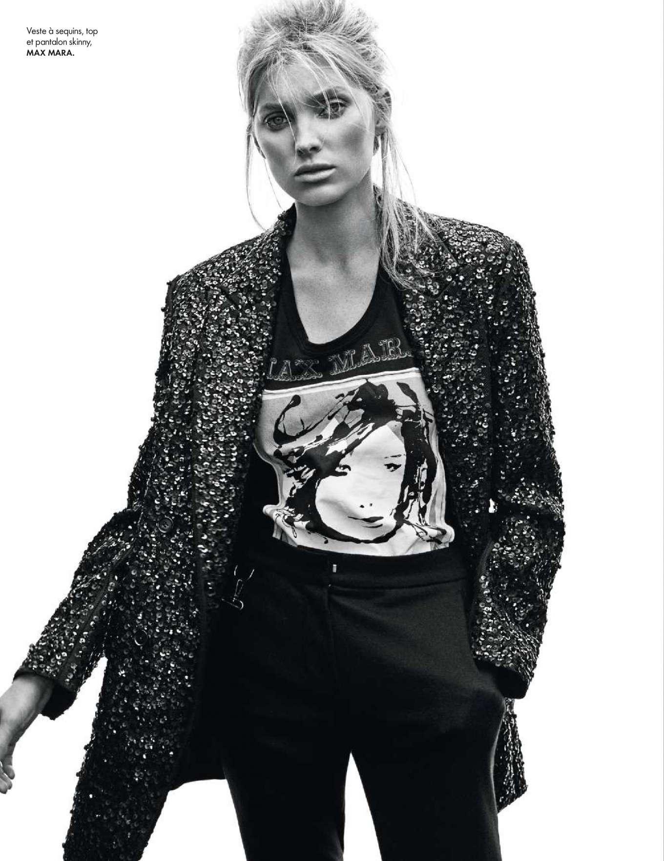 Elsa Hosk – Elle France Magazine (December 2018)