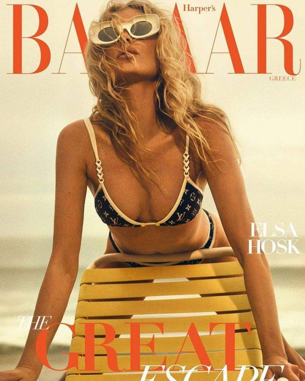 Elsa Hosk - Harper's Bazaar Magazine (Greece - August 2020)