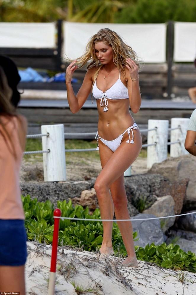 Elsa Hosk – Hot in Victoria's Secret photoshoot in St. Barths