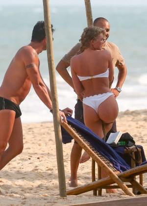 Elsa Hosk in White Bikini -28