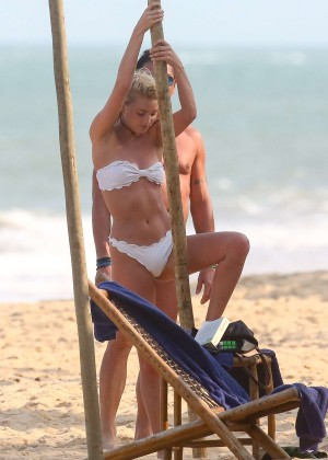 Elsa Hosk in White Bikini -84