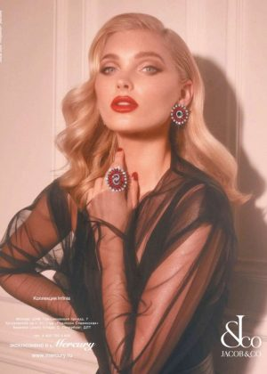 Elsa Hosk - Jacob and Co. Jewelry Campaign (September 2018)