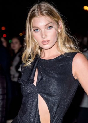 Elsa Hosk - L'Oreal Gold Obsession Party 2016 in Paris