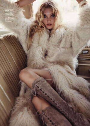 Elsa Hosk - Marie Claire UK Magazine (October 2015)