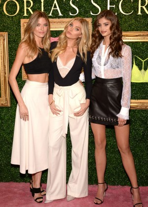 Elsa Hosk, Martha Hunt and Taylor Marie Hill - Victoria's Secret Bralette Collection Launch in NYC