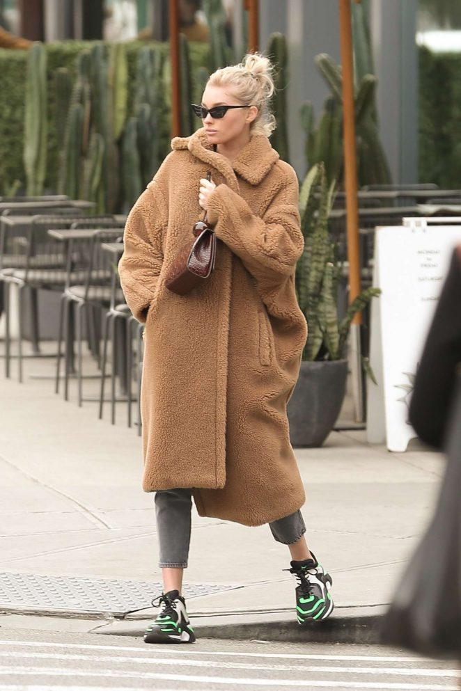 Elsa Hosk – Out and about in New York