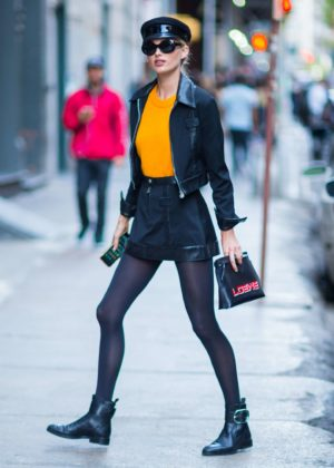 Elsa Hosk - Out and about in NYC