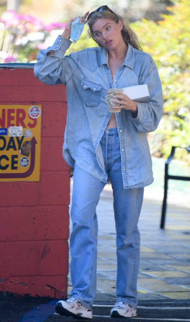 Elsa Hosk - Out for a coffe in LA