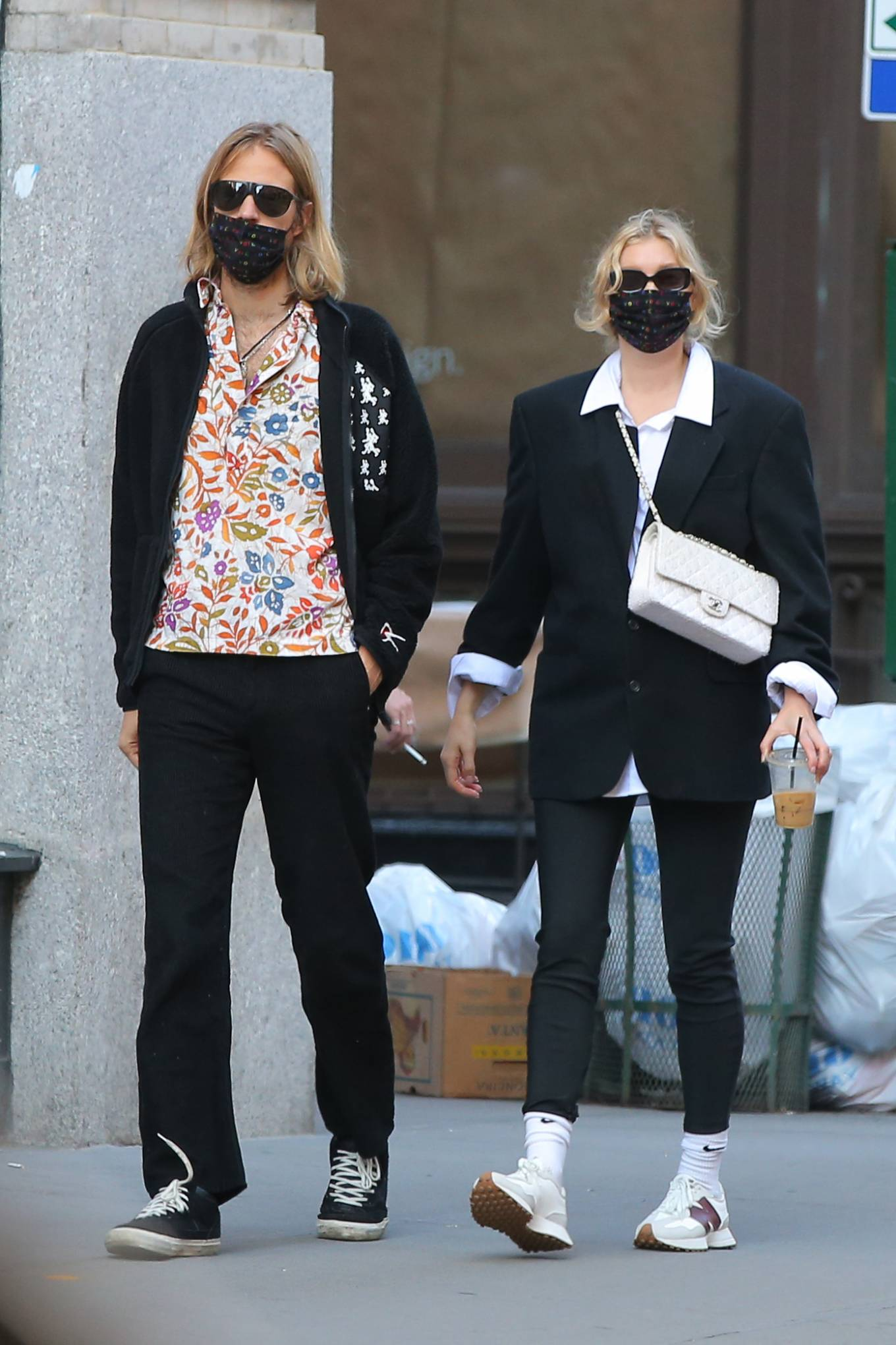 Elsa Hosk - Out for a coffee at Ground Support in Soho