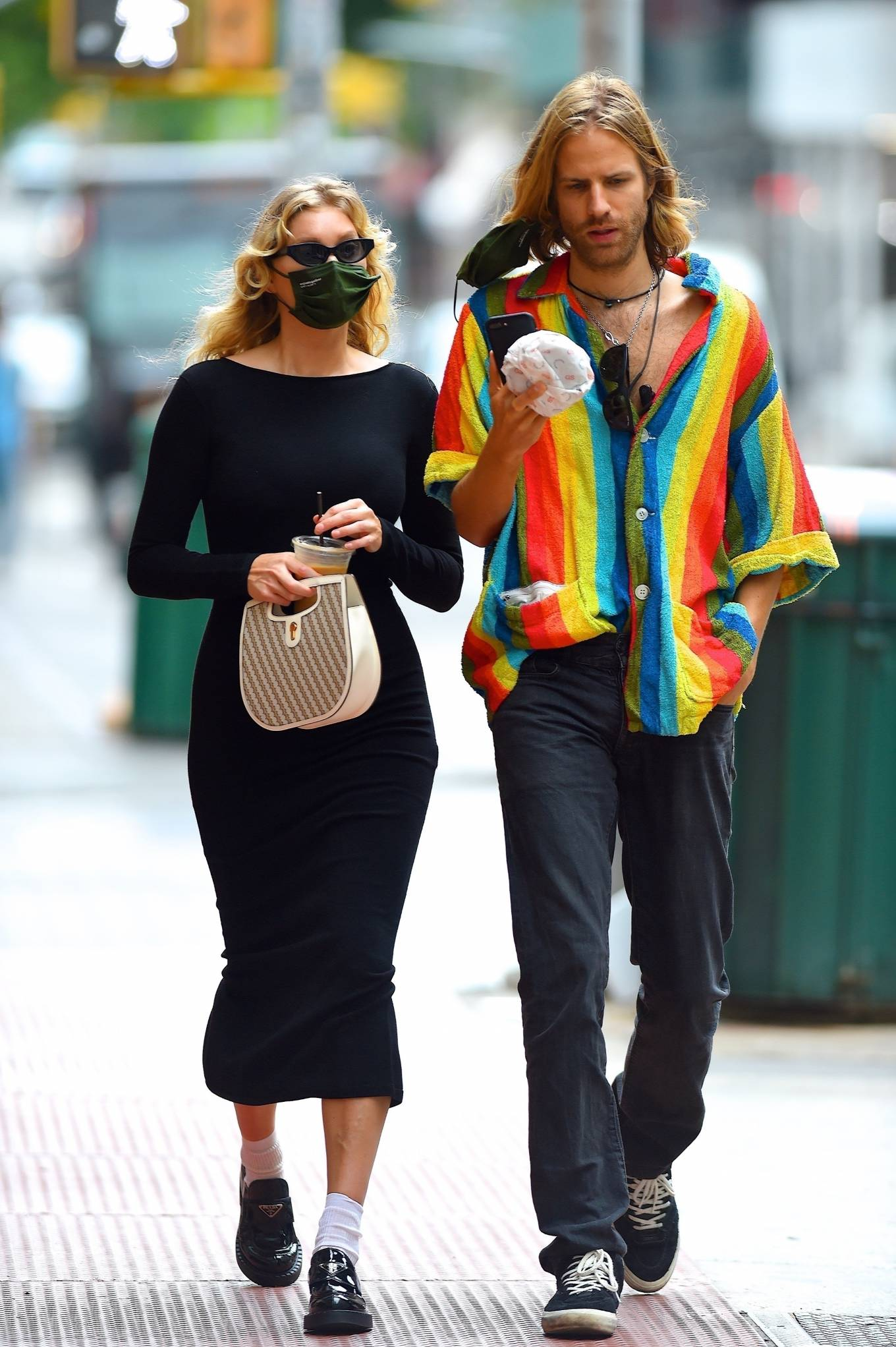 Elsa Hosk - Out for a coffee in New York