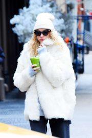 Elsa Hosk - Out in Soho, New York