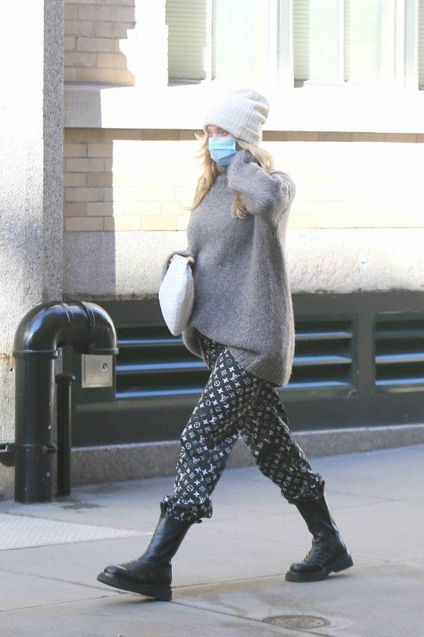 Elsa Hosk - Seen out in New York City