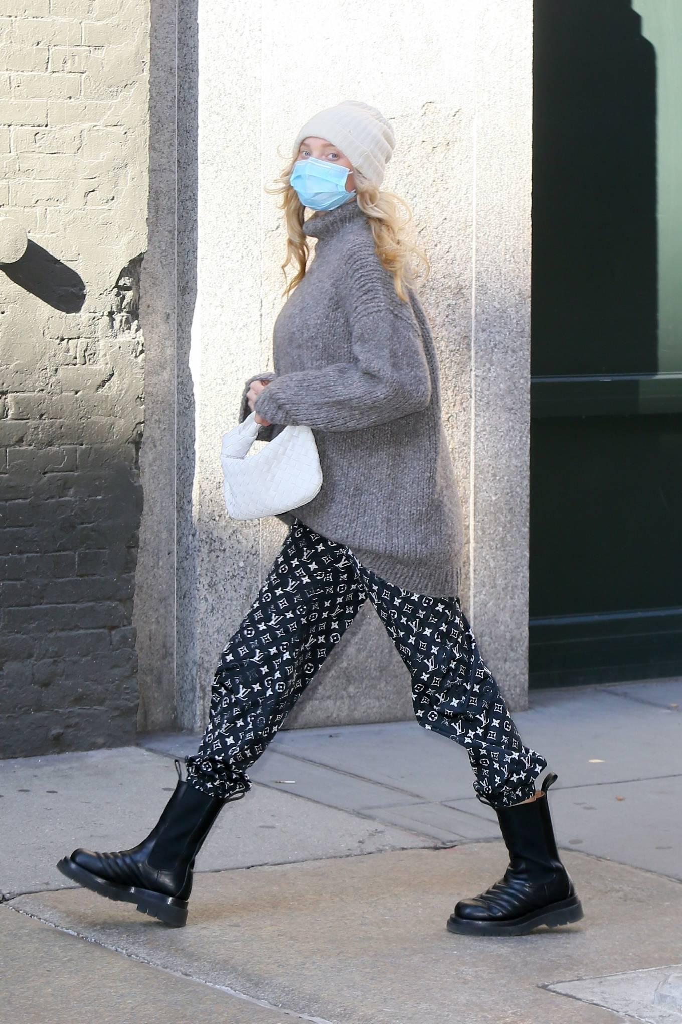 Elsa Hosk 2020 : Elsa Hosk – Seen out in New York City-04