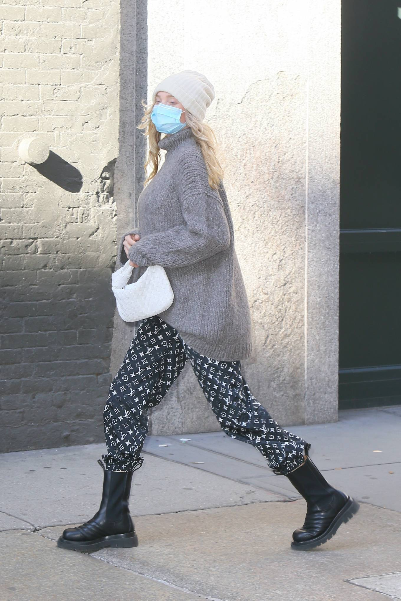 Elsa Hosk 2020 : Elsa Hosk – Seen out in New York City-08