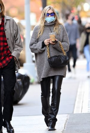 Elsa Hosk - Spotted while walking around Soho in New York