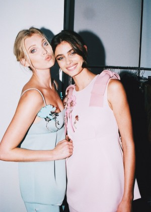 Elsa Hosk and Taylor Hill - Fashion Magazine (September 2015)