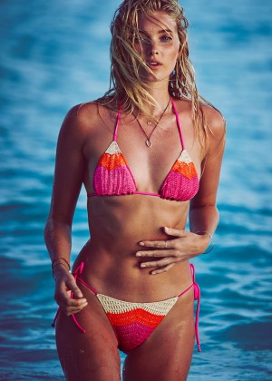 Elsa Hosk - Victoria's Secret Bikini (December 2015)