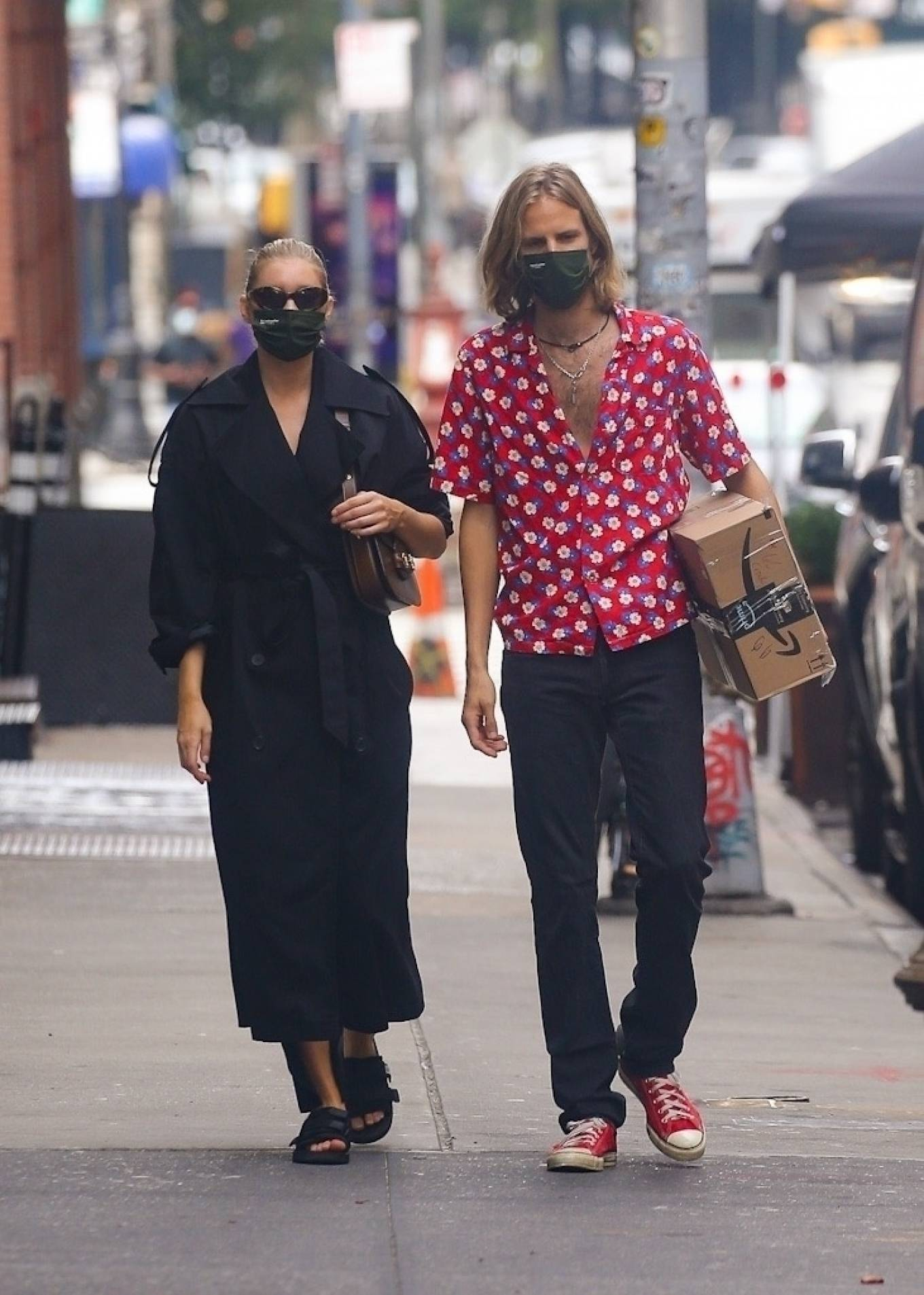 Elsa Hosk 2020 : Elsa Hosk with her boyfriend in New York City-06