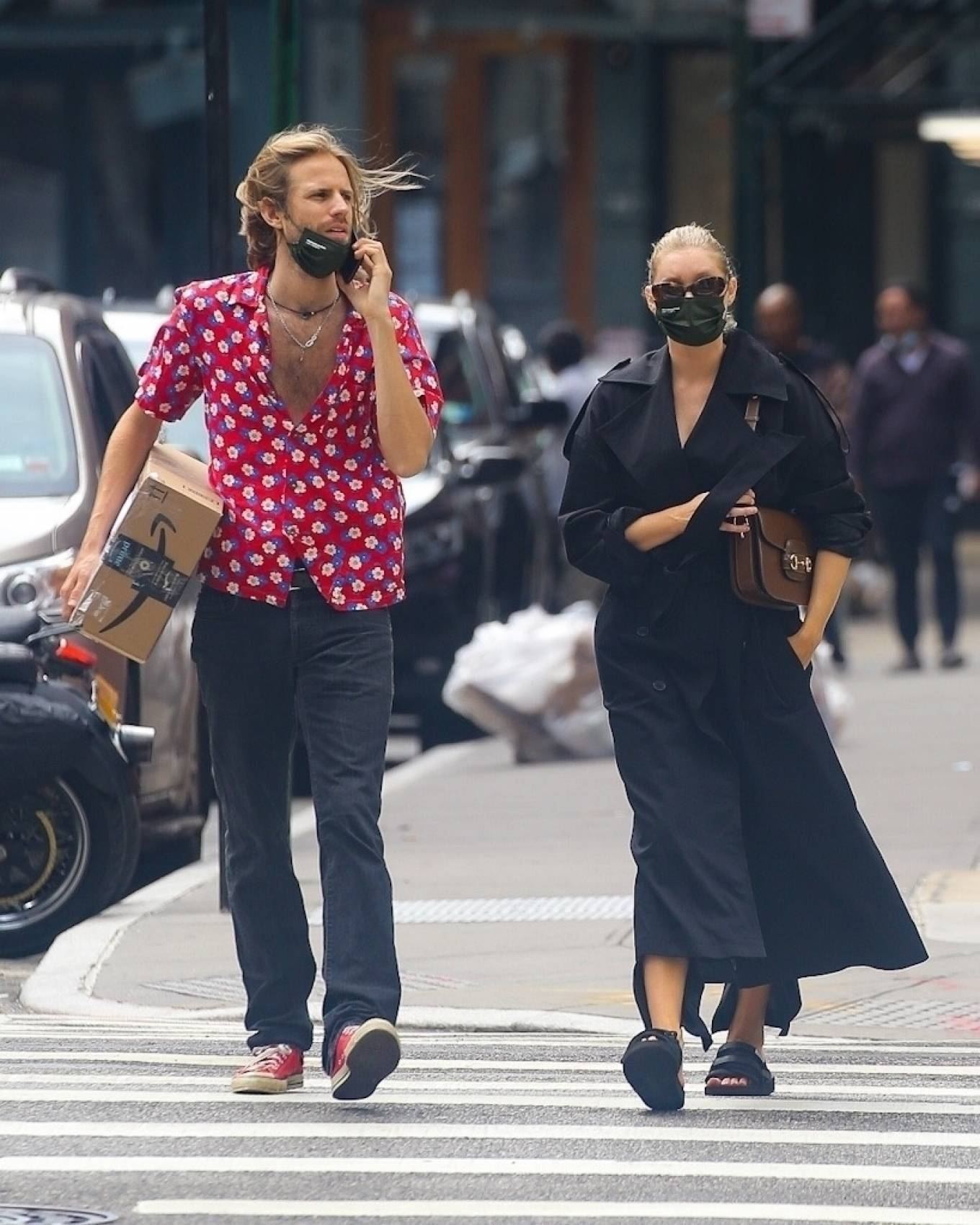 Elsa Hosk 2020 : Elsa Hosk with her boyfriend in New York City-18