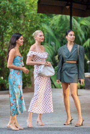 Elsa Hosk - With Sara Sampaio and Shanina Shaik attend The Darya Hope Launch Event in LA