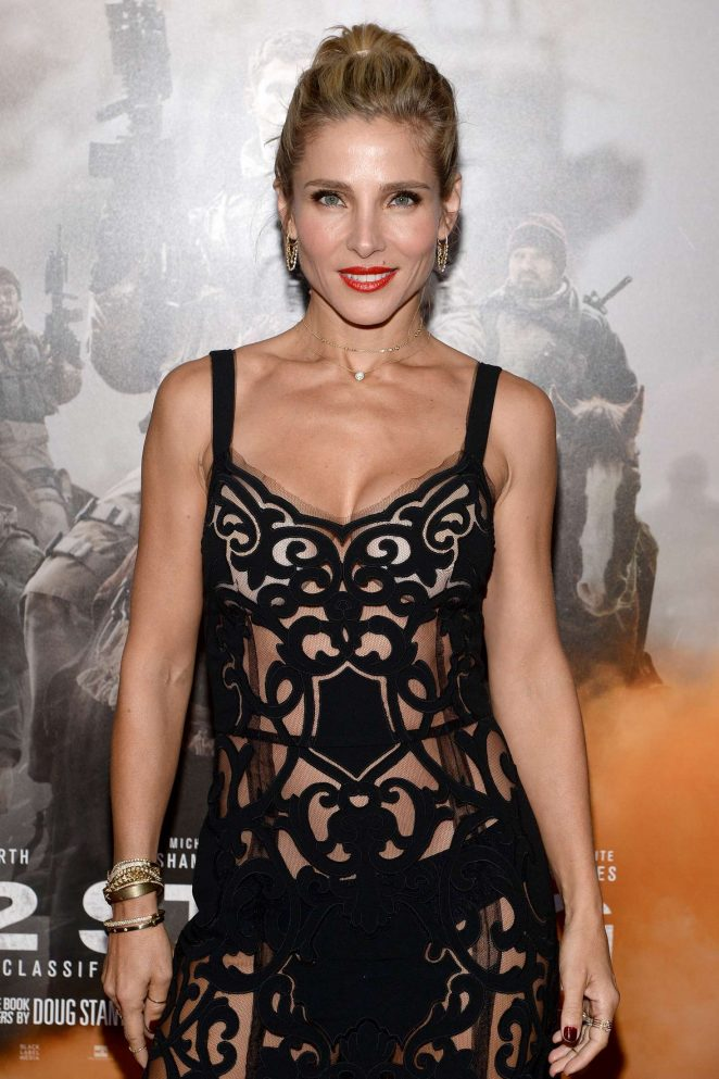 Elsa Pataky - '12 Strong' Premiere in New York City