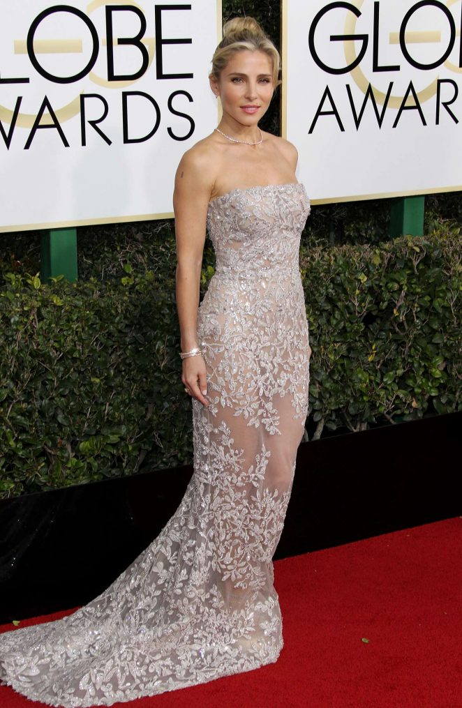 Elsa Pataky - 74th Annual Golden Globe Awards in Beverly Hills