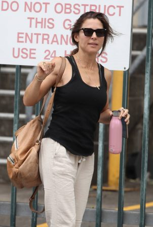 Elsa Pataky - At the ABC quarters in Sydney