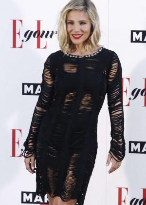 Elsa Pataky - Elle Gourmet Awards 2015 in Madrid