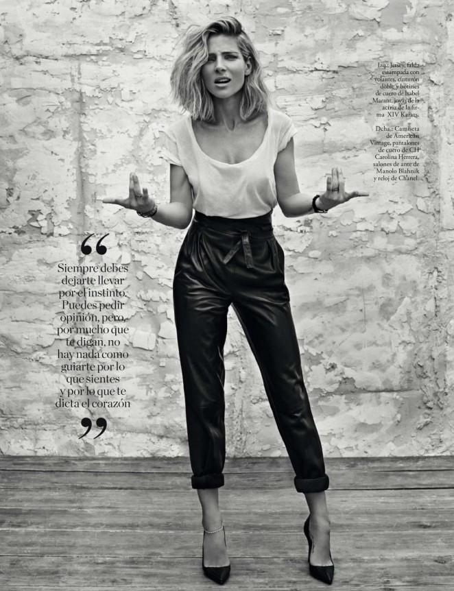 Elsa Pataky - Elle Magazine (December 2015)