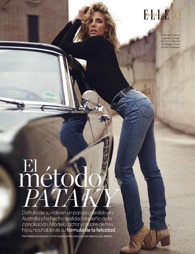 Elsa Pataky - Elle Spain Magazine (November 2016)