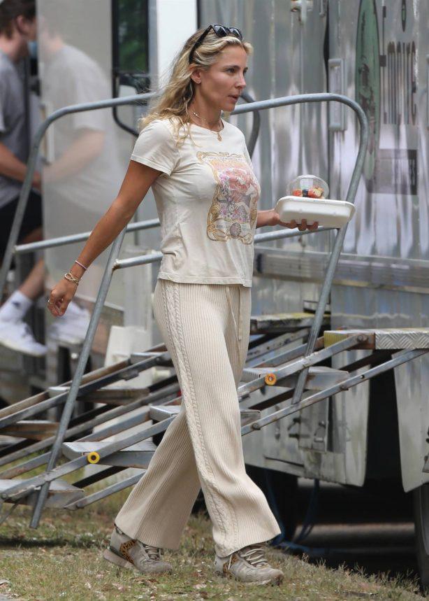 Elsa Pataky - Filming 'Carmen' in Sydney