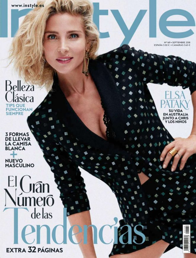 Elsa Pataky for InStyle Spain Magazine (September 2018)