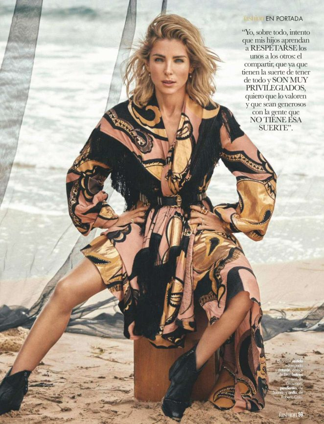 Elsa Pataky – ¡Hola! Fashion Magazine (December 2018)