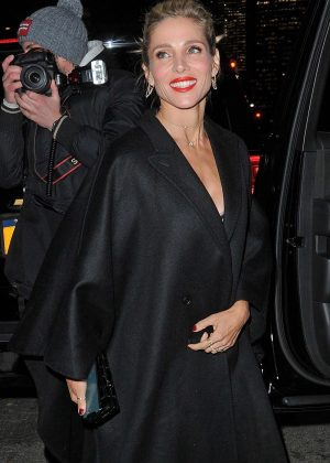 Elsa Pataky - Leaves her hotel in New York City